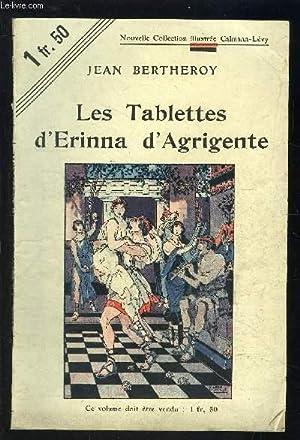 LES TABLETTES D ERINNA D AGRIGENTE: BERTHEROY JEAN.