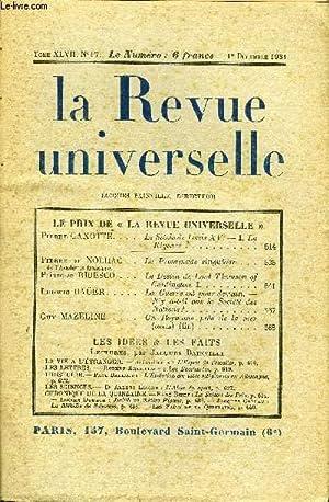 LA REVUE UNIVERSELLE TOME 47 N°17 - LE PRIX DE « LA REVUE UNIVERSELLE »Pierre ...