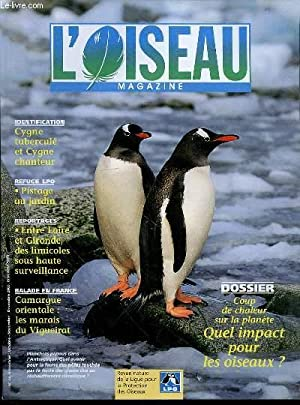 L'OISEAU MAGAZINE N°73 - Dossier : Coup: COLLECTIF