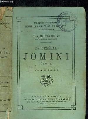 LE GENERAL JOMINI - ETUDE: SAINTE-BEUVE C.-A.