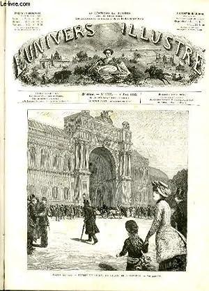 L'UNIVERS ILLUSTRE - VINGT CINQUIEME ANNEE N° 1415 - Salon de 1882, entrée du ...