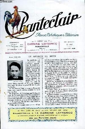 CHANTECLAIR N° 247 - LE MEDECIN DU BORD PAR ROLAND DORGELES, LA FEMME DE GREUZE PAR HENRI ...
