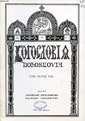 OUVRAGE EN RUSSE (BOGOSLOVIA, T. XLVIII, Kh. 1-4, 1984 (VOIR PHOTO POUR DESCRIPTION DU TEXTE): ...