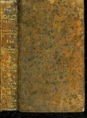 MEMOIRES SECRETS POUR SERVIR A L'HISTOIRE DE LA REPUBLIQUE DES LETTRES EN FRANCE DEPUIS 1762 ...