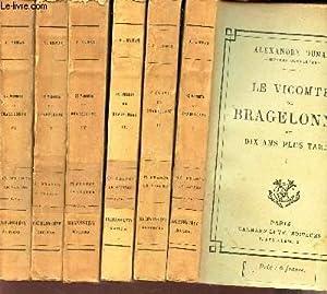 LE VICOMTE DE BRAGELONNE OU DIX ANS: DUMAS ALEXANDRE