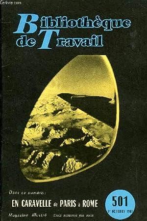 BIBLIOTHEQUE DE TRAVAIL N°501 - EN CARAVELLE DE PARIS A ROME: COLLECTIF