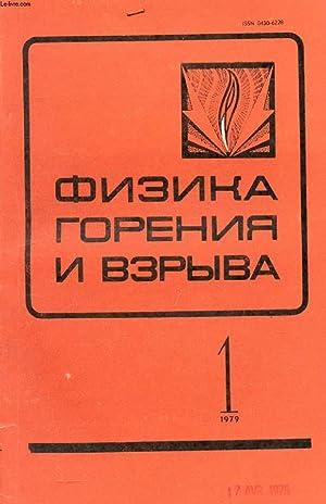 OUVRAGE EN RUSSE (FIZIKA GORENIA I VZRYVA,: COLLECTIF