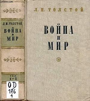 OUVRAGE EN RUSSE (VOYNA I MIR, TOM: TOLSTOI L.N.