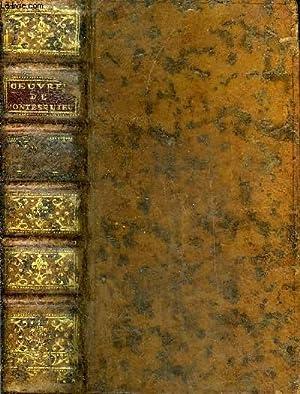 OEUVRES DE MONSIEUR DE MONTESQUIEU - TOME PREMIER SEUL - NOUVELLE EDITION REVUE CORRIGEE & ...