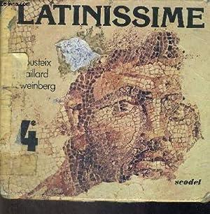 LATINISSIME - 4E: COUSTEIX J -