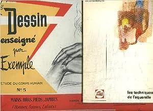 LES TECHNIQUES DE L'AQUARELLE + LE DESSIN: HEUNINCKX J.L.J. /