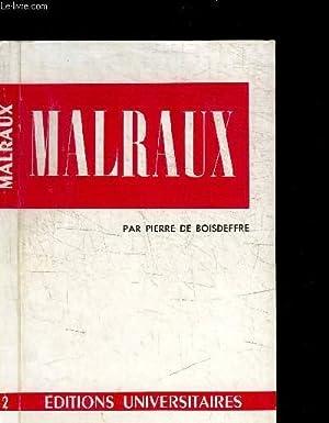 MALRAUX / COLLECTION CLASSIQUES DU XXe SIECLE N°2: DE BOISDEFFRE PIERRE