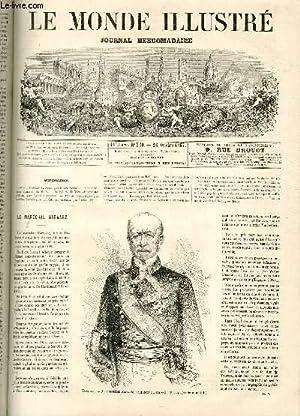 LE MONDE ILLUSTRE N°550 - Espagne, Le maréchal Navaëz, président du conseil (photographie de ...
