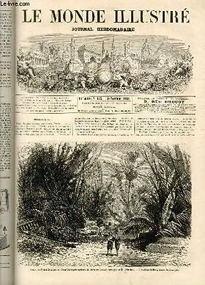 LE MONDE ILLUSTRE N°555 - Paris, Opéra-Comique - Première représentation de Robinson Crusoé, ...