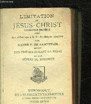 L'IMITATION DE JESUS-CHRIST N°610 - TRADUCTION NOUVELLE: ABBE F. DE