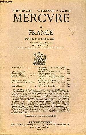 MERCURE DE FRANCE N° 957 - TOME: COLLECTIF