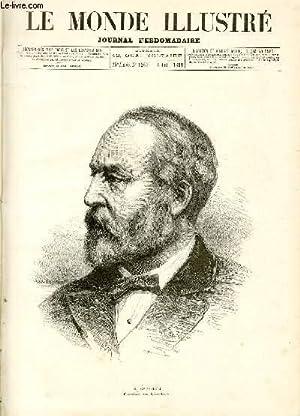 LE MONDE ILLUSTRE N°1267 - M. Garfield, président des Etats-Unis.: COLLECTIF