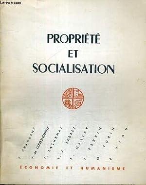 PROPRIETE ET SOCIALISATION -: COLLECTIF