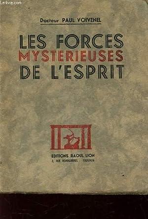 LES FORCES MYSTERIEUSES DEL 'ESPRIT.: VOIVENEL PAUL
