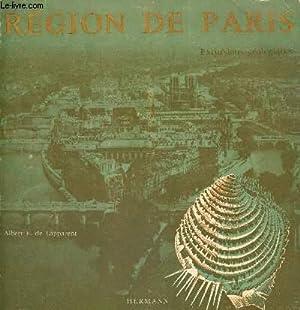 REGION DE PARIS - EXCURSIONS GEOLOGIQUES ET VOYAGES PEDAGOGIQUES: F. DE LAPPARENT ALBERT