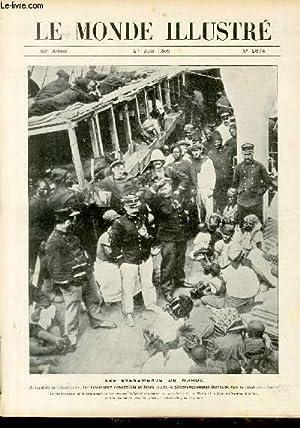 """LE MONDE ILLUSTRE N°2674 - Les évenements du Maroc - à bord de la """"Gironde"""", les ..."""