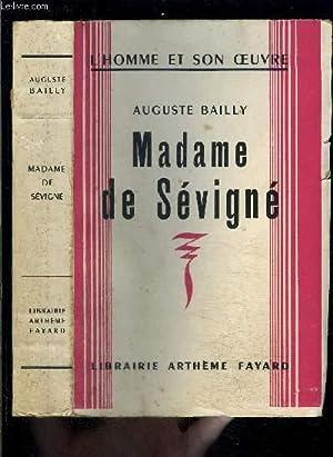 MADAME DE SEVIGNE: BAILLY AUGUSTE.