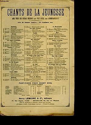 CHANTS DE LA JEUNESSE N°31 VIOLETTA OPERA DE VERDI. AIR LORSU'A DES FOLLES AMOURS.: G. ...