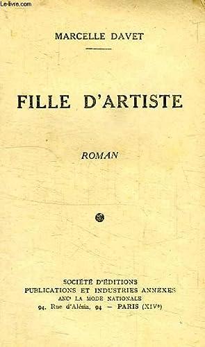 FILLE D'ARTISTE: DAVET Marcelle