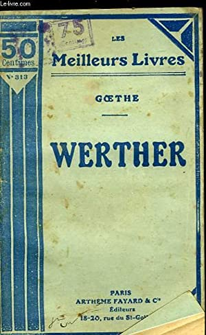 WERTHER: GOETHE.