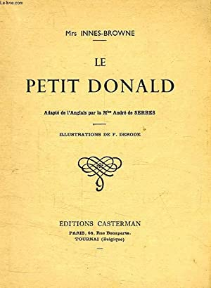 LE PETIT DONALD: INNES-BROWNE Mrs