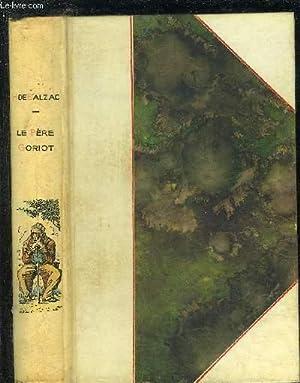 LE PERE GORIOT.: H.DE BALZAC