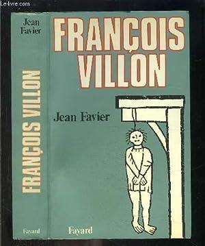 FRANCOIS VILLON: FAVIER JEAN.