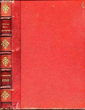 LE JOURNAL DE LA JEUNESSE - NOUVEAU RECUEIL HEBDOMADAIRE ILLUSTRE - 1890 - DEUXIEME SEMESTRE.: ...