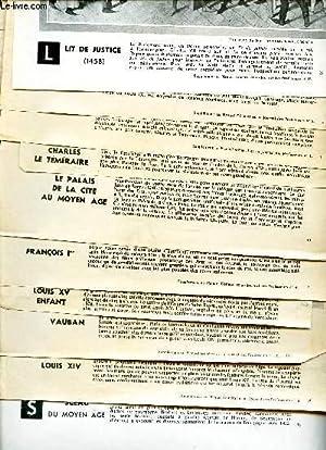 LOT DE D'ILLUSTRATIONS SUR L'HISTOIRE DE FRANCE - COMPRENANT 22 ILLUSTRATIONS NOIR ET ...