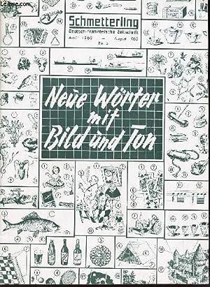 SCHMETTERLING - AOUT 1960 - N°5 / NEUE WORTER MIT BILD UND TON: COLLECTIF