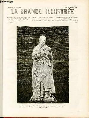 LA FRANCE ILLUSTREE N° 260 - Salon de 1879, Saint-Vincent de Paul, statue en marbre par Alexandre ...