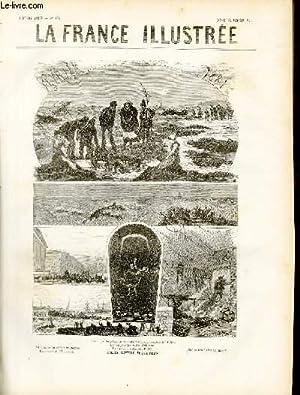 LA FRANCE ILLUSTREE N° 325 - Février 1881 - Faits divers illustrés, les corps des...