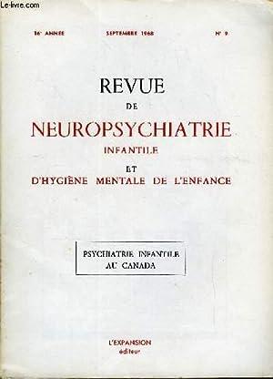 REVUE DE NEUROPSYCHIATRIE INFANTILE ET D'HYGIENE MENTALE: COLLECTIF