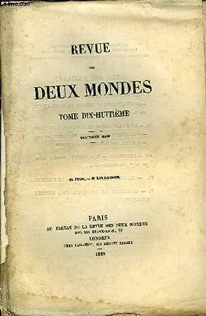 REVUE DES DEUX MONDES TOME XVIII N°6 - I. - LES VICTIMES DE BOILEAU. — I. — LES GOINFRES. —. ...