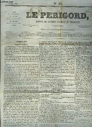 LE PERIGORD JOURNAL DES INTERETS NATIONAUX ET PROVINCIAUX N°38 ANNEE 1843 - Périgueux - Taïti - ...