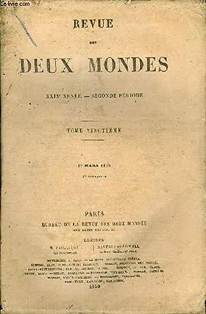 REVUE DES DEUX MONDES XXIXe ANNEE N°1 - I.— ELLE ET LUI, dernière partie, par M. George ...