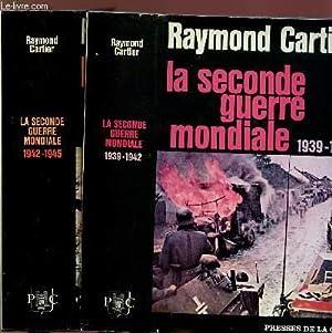 LA SECONDE GUERRE MONDIALE 1939-1942 - 2 VOLUMES - TOMES I+II: CARTIER RAYMOND