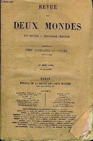 REVUE DES DEUX MONDES LIIe ANNEE N°2 - I. — SOUVENIRS LITTÉRAIRES. — X. — LES ...