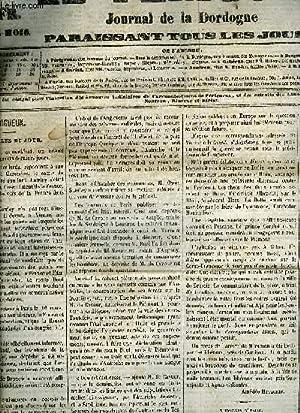 LE PERIGORD JOURNAL DE LA DORDOGNE - HUITIEME ANNEE 1859 - LOT DE 85 NUMEROS .: COLLECTIF