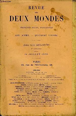 REVUE DES DEUX MONDES LXXe ANNEE N°2 - I.  LE POÈTE MARTIAL, par M. Gaston Boissier,de l Academie ...