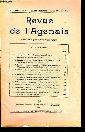 REVUE DE L'AGENAIS - 68EME ANNEE - N° 1-4 - Un modillon roman trouvé à ...