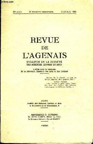 REVUE DE L'AGENAIS - 86EME ANNEE - N° 2 - A propos d'une prétendue coterie Scaliger par ...