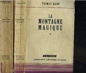 LA MONTAGNE MAGIQUE- 2 TOMES EN 2 VOLUMES: MANN THOMAS