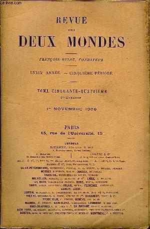 REVUE DES DEUX MONDES LXXIXe ANNEE N°1 - I.— GEORGE ANDERSON, deuxième partie, par Mrs ...