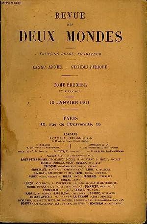 REVUE DES DEUX MONDES LXXXIe ANNEE N°2 - I.— MADEMOISELLE DE JESSINCOURT,qüatriè...
